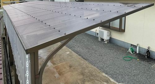 カーポート屋根改修工事