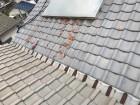 雨漏り屋根工事前写真