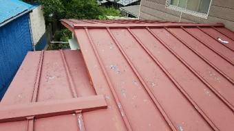 内海町瓦棒屋根葺き替え工事