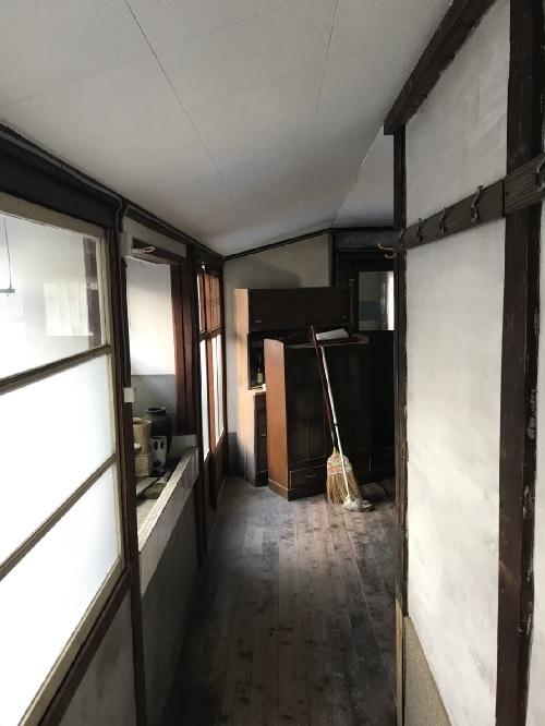廊下部分天井のリフォーム工事後