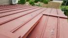 瓦棒葺き屋根工事前写真
