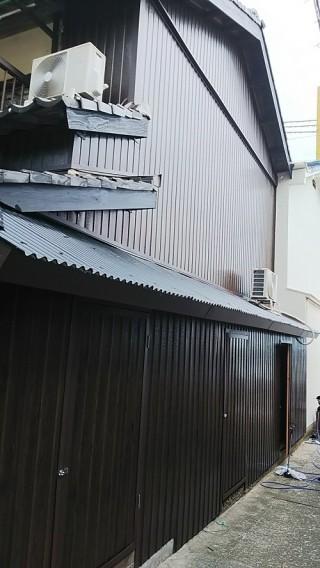 波トタン工事後写真