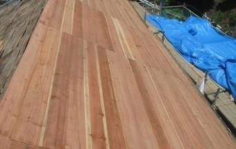屋根板補強写真2