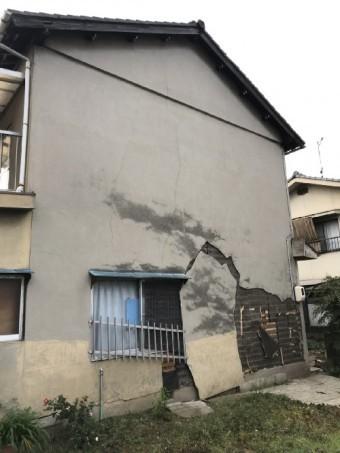 野上町外壁調査写真1