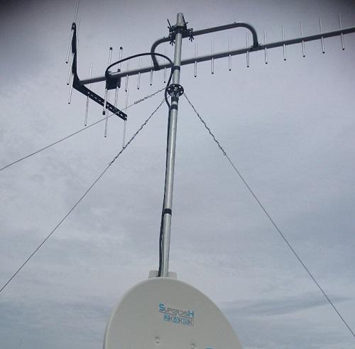 アンテナの修理