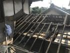 内海町雨漏り修理の下地写真①