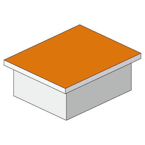 コラム用陸屋根