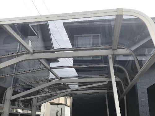 カーポート屋根工事後写真