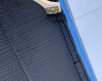 屋根塗装隅