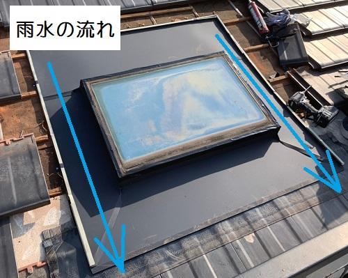 天窓板金施工