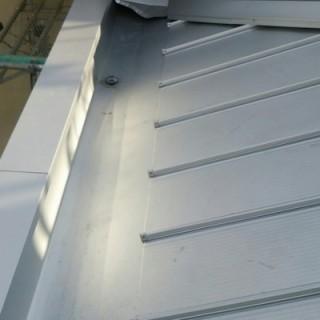 ガルバリウム屋根へ葺き替え工事