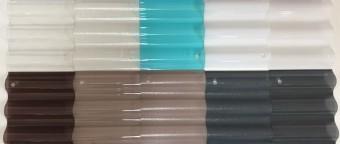 ポリカーボネート波板カラー