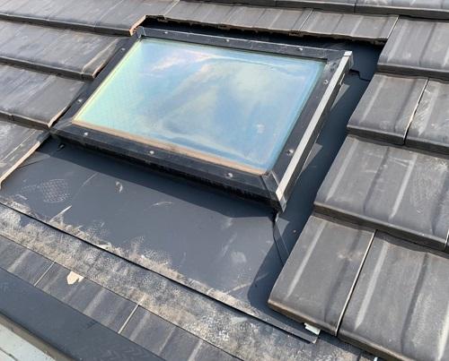 天窓雨漏り修理後