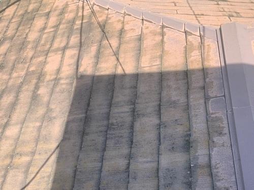 北側下屋根