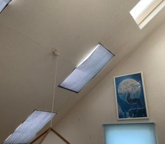 室内から見た天窓