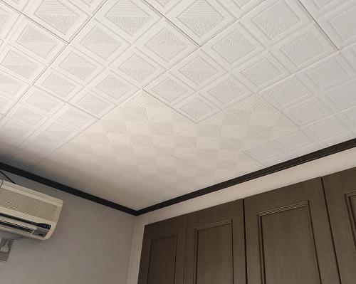 天井板交換後