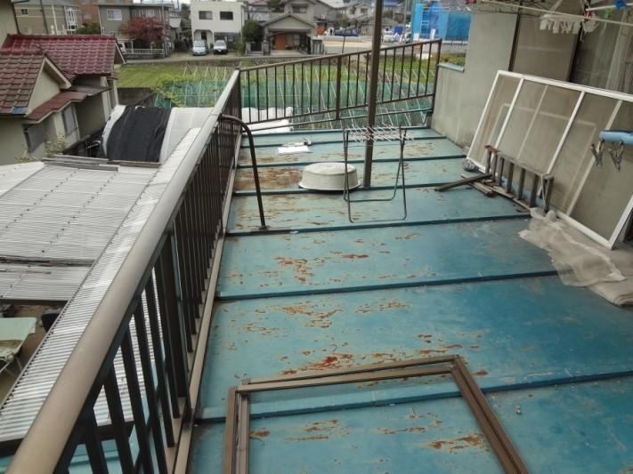 板金屋根劣化状況