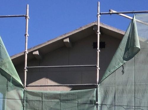 大屋根の解体
