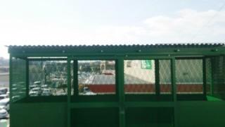 ゴミステーション屋根