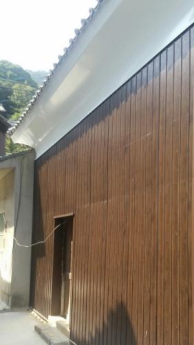 蔵外壁塗装