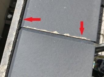 笠木と幕板