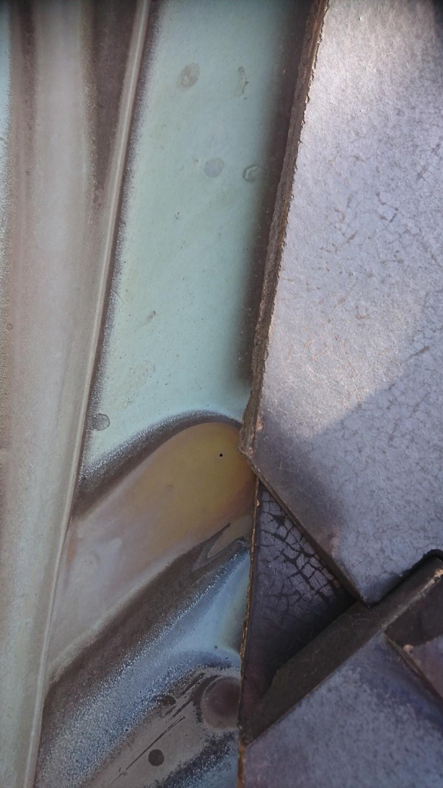 銅板 谷 腐食2