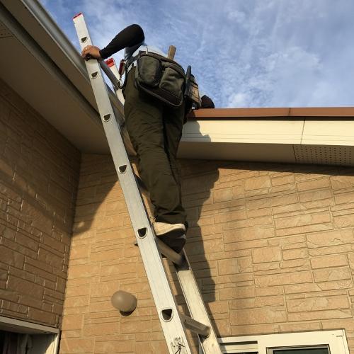 2階屋根点検