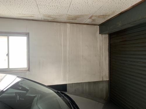 車庫雨漏り
