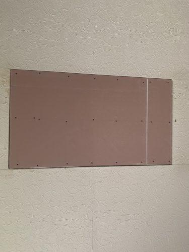 プラスターボード施工