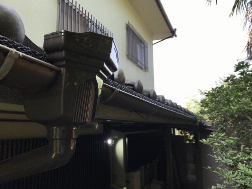竪樋の新しい写真①