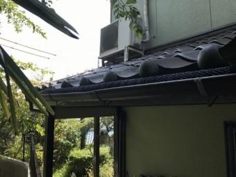 雨樋の勾配調整の写真②