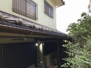 雨樋の勾配調整の写真①