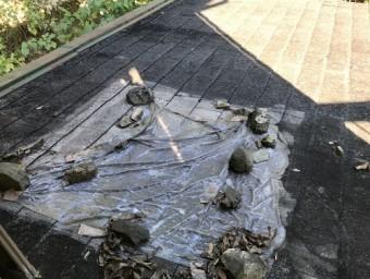 カラーベスト屋根の雨漏り