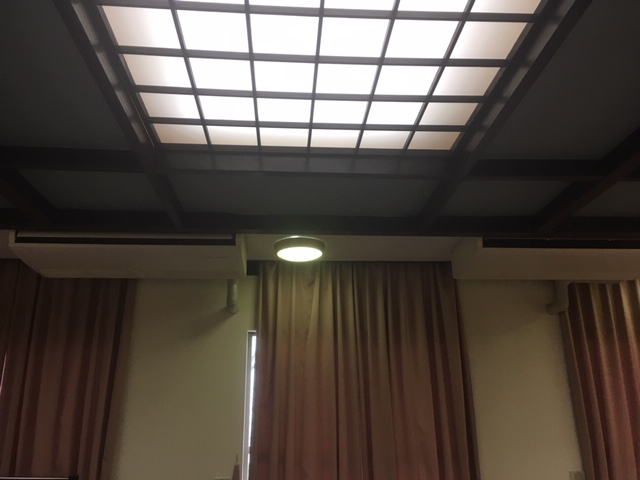 天井のたわみ