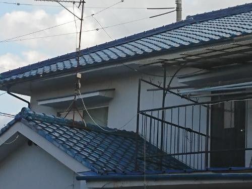 棟の積み替え工事