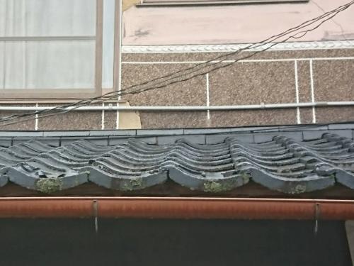屋根瓦の傷み