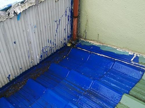 雨漏りのひどい箇所