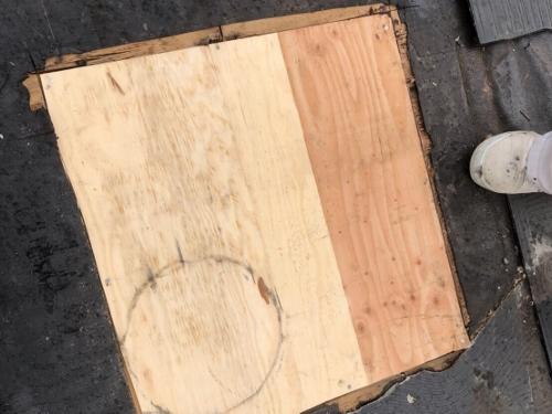 野地板補修