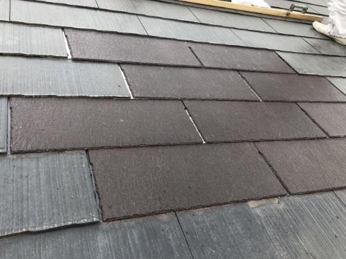 トップライト撤去後屋根