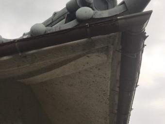 軒樋の劣化