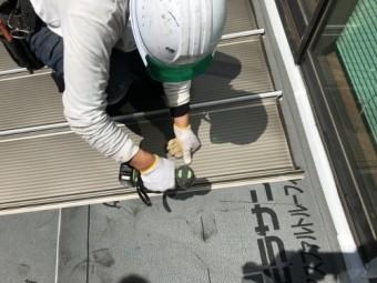 屋根材取付