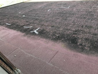 カラーベスト屋根の現状