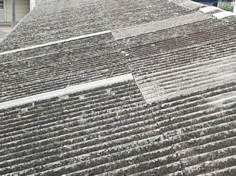 スレート屋根の補修