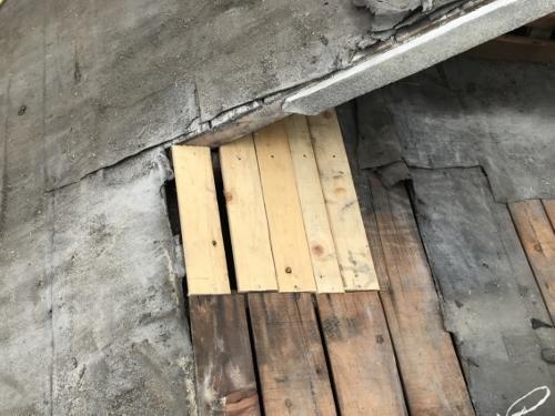 野地板の補修