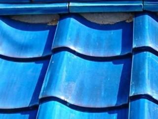 瓦の屋根補修工事後