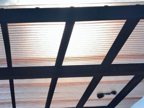 波板貼り替え工事