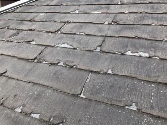 屋根葺き替え改修前