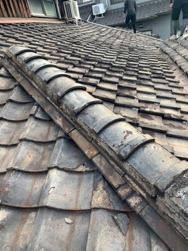 瓦屋根のチェック