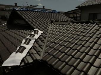 棟以外屋根完成