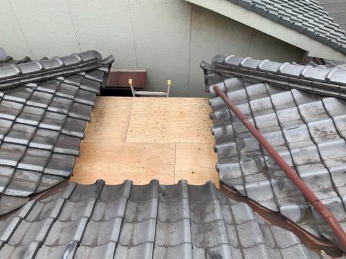 上から見た屋根
